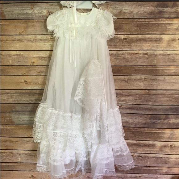 Little Things Mean a Lot Dresses | Newborn Vintage Baptism Dress ...